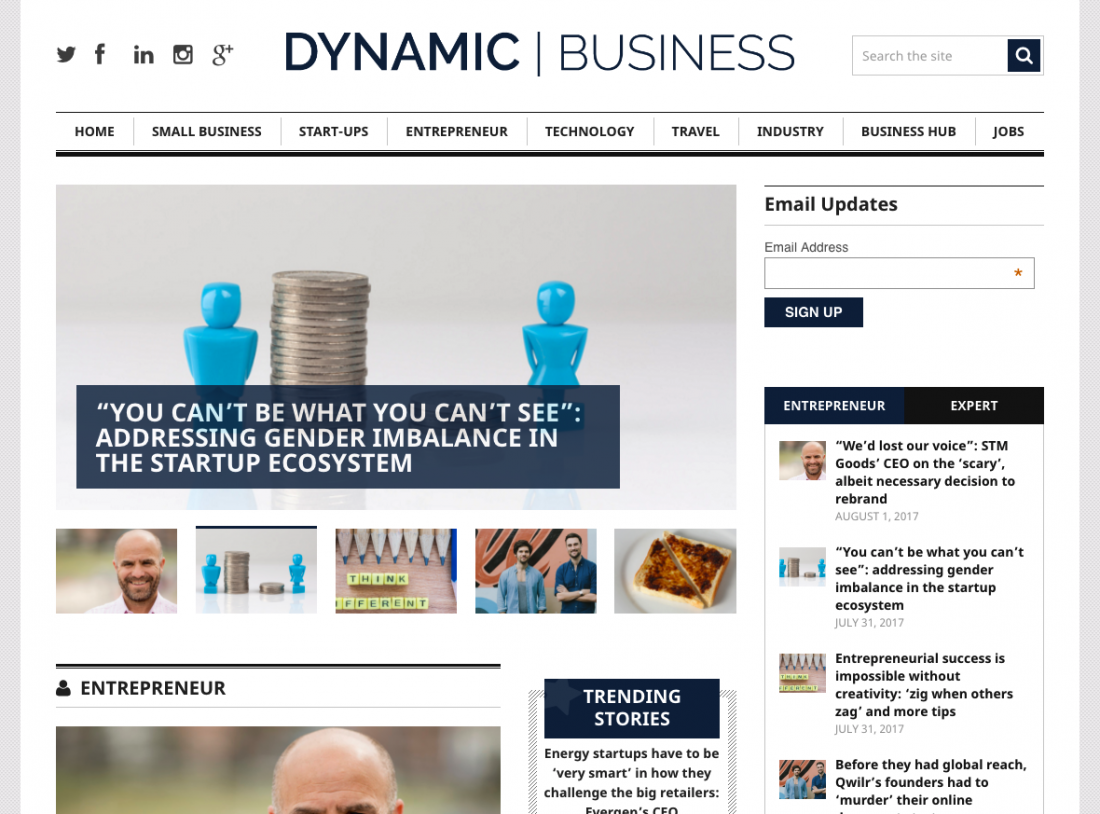 Dynamic Business 31 July 2017