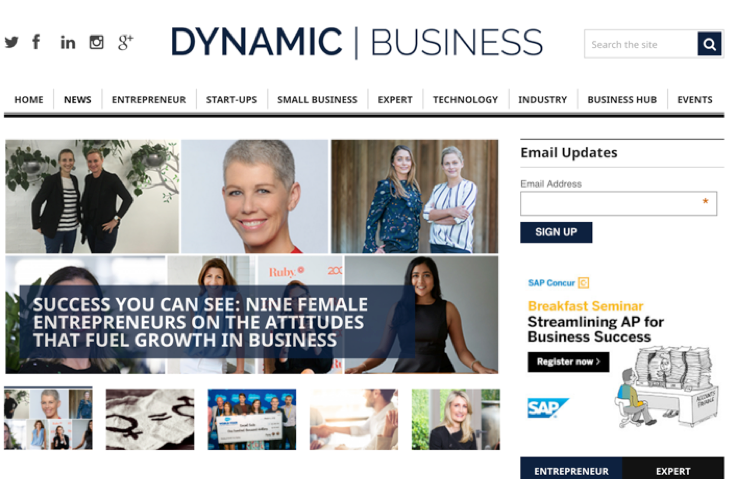 Dynamic Business Success you can see